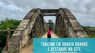 Turismo em Arroio Grande é destaque no site TravelTerapia